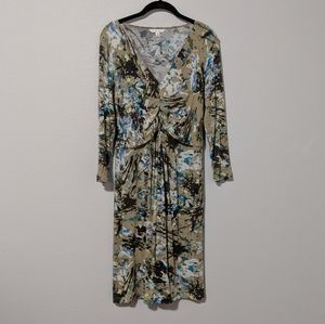 CAbi Abstract Gallery Jersey Dress Style 850